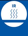 Geeignet für Infrarottrocknungsverfahren